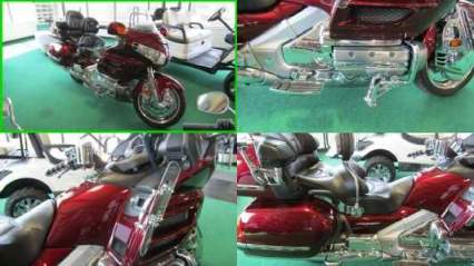 2005 Honda Gold Wing 1800 DARK RED for sale
