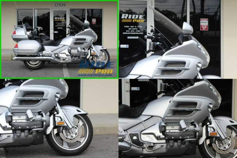 2005 Honda Gold Wing Silver for sale craigslist photo