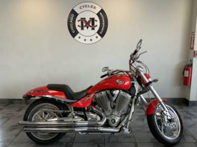 2005 Victory HAMMER Red for sale craigslist photo