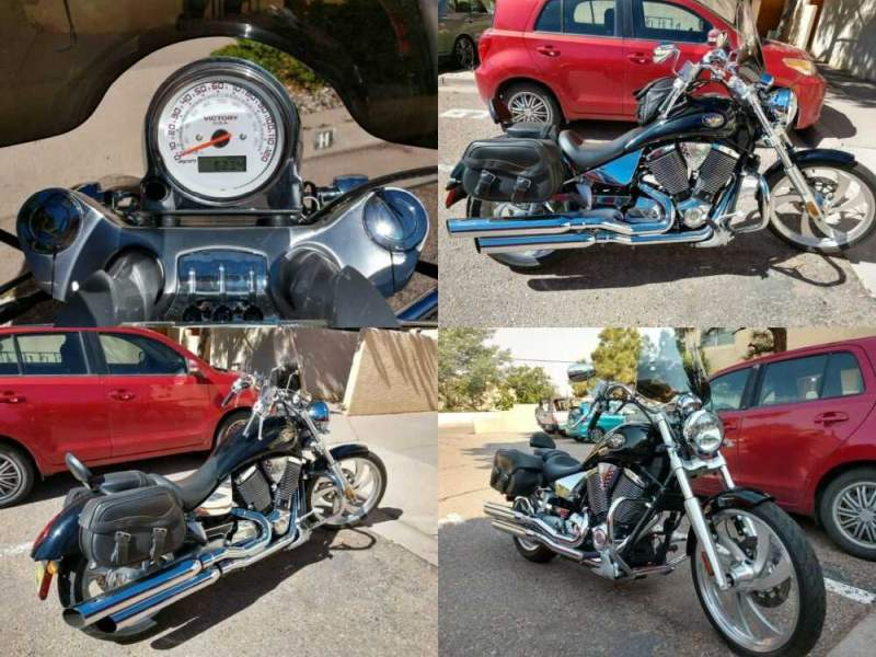 2005 Victory Vegas Black for sale craigslist photo