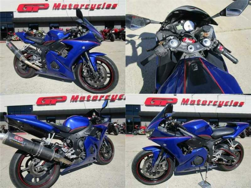 2005 Yamaha YZF-R Blue for sale craigslist photo