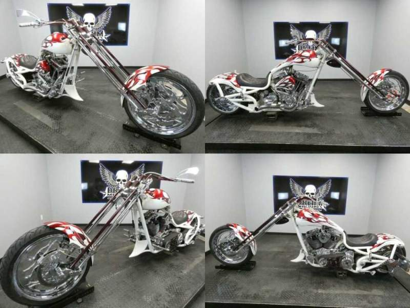 2006 Bourget Python 330 Chopper White for sale craigslist photo