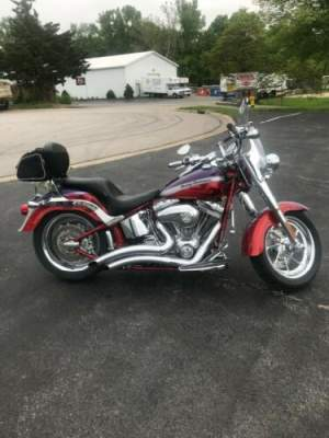2006 Harley-Davidson Softail Purple for sale craigslist