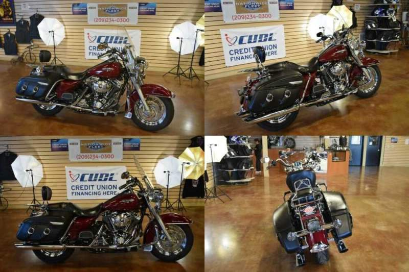 2006 Harley-Davidson Touring Red for sale craigslist photo