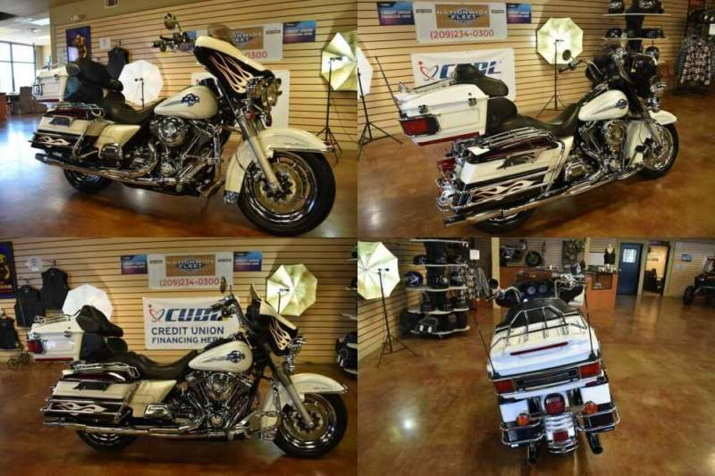 2006 Harley-Davidson Touring White for sale craigslist photo