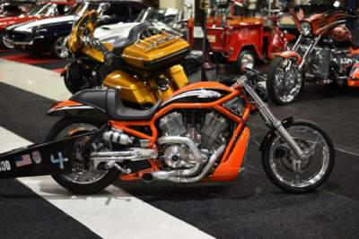 2006 Harley-Davidson V-ROD Orange for sale craigslist photo