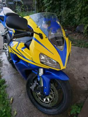 2006 Honda CBR Blue for sale craigslist