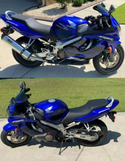 2006 Honda CBR Blue for sale