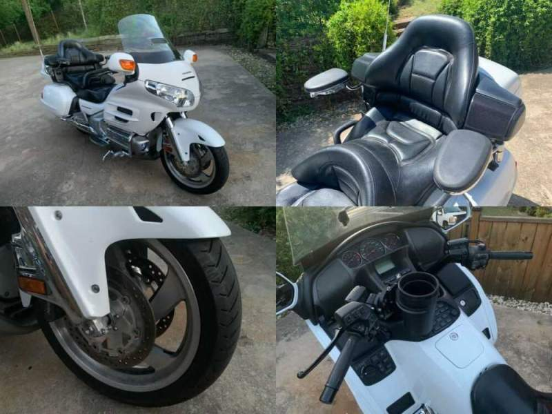 2006 Honda Gold Wing Arctic White for sale craigslist photo