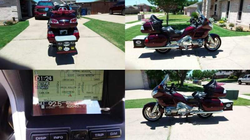 2006 Honda Gold Wing Burgundy for sale craigslist