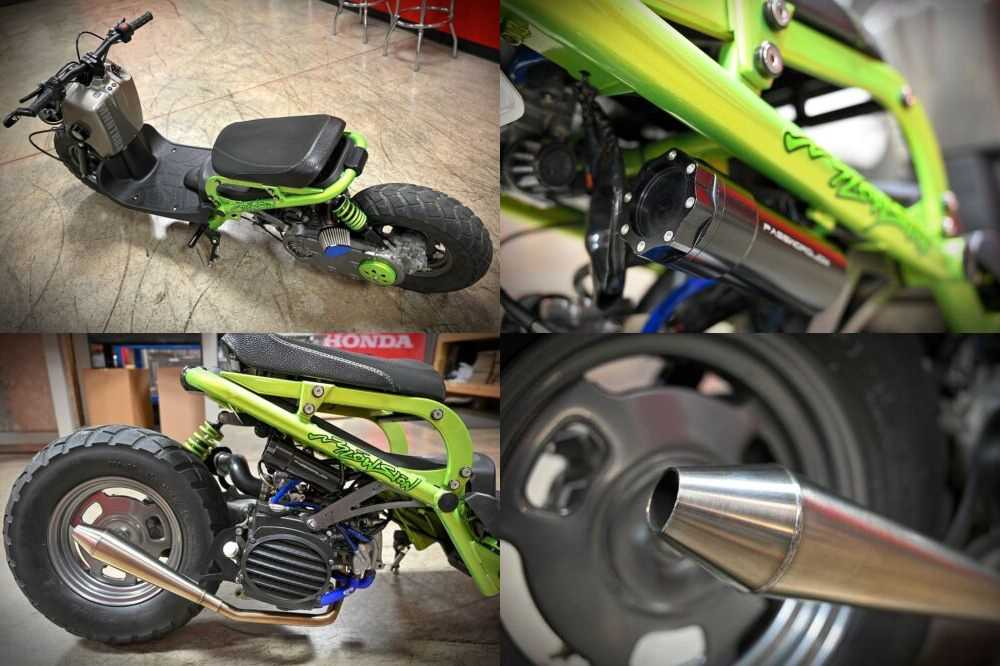 2006 Honda Ruckus Green for sale craigslist photo