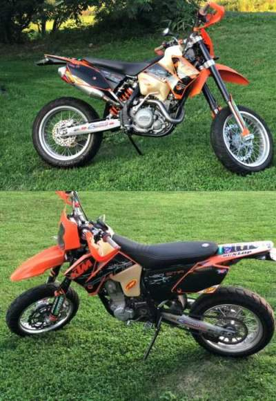 2006 KTM SMR 450 KTM Orange/Black for sale craigslist
