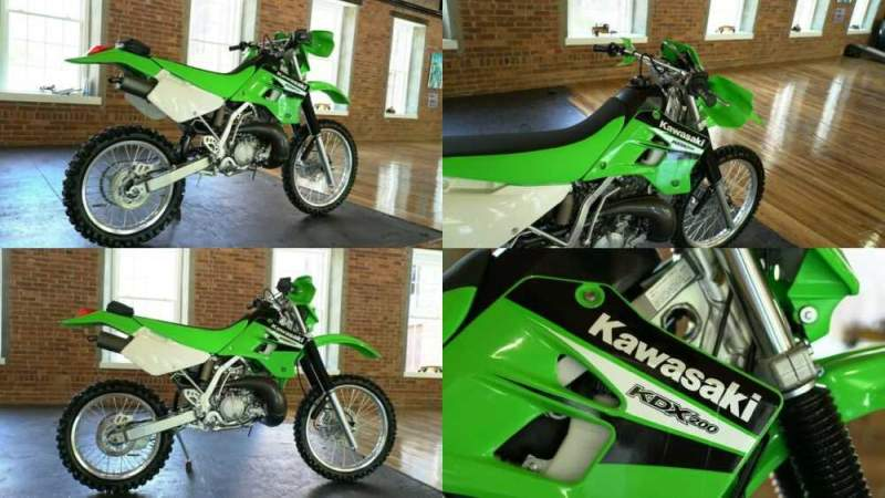 2006 Kawasaki KDX Green for sale craigslist photo