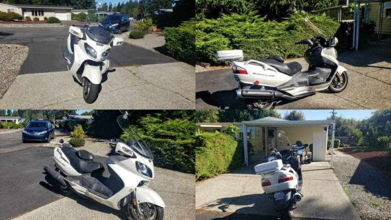 2006 Suzuki AN650 White for sale craigslist