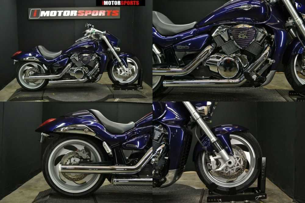 2006 Suzuki Boulevard Purple for sale craigslist photo