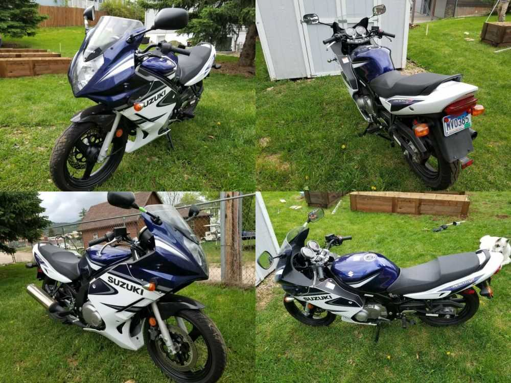 2006 Suzuki GS blue and white for sale craigslist photo