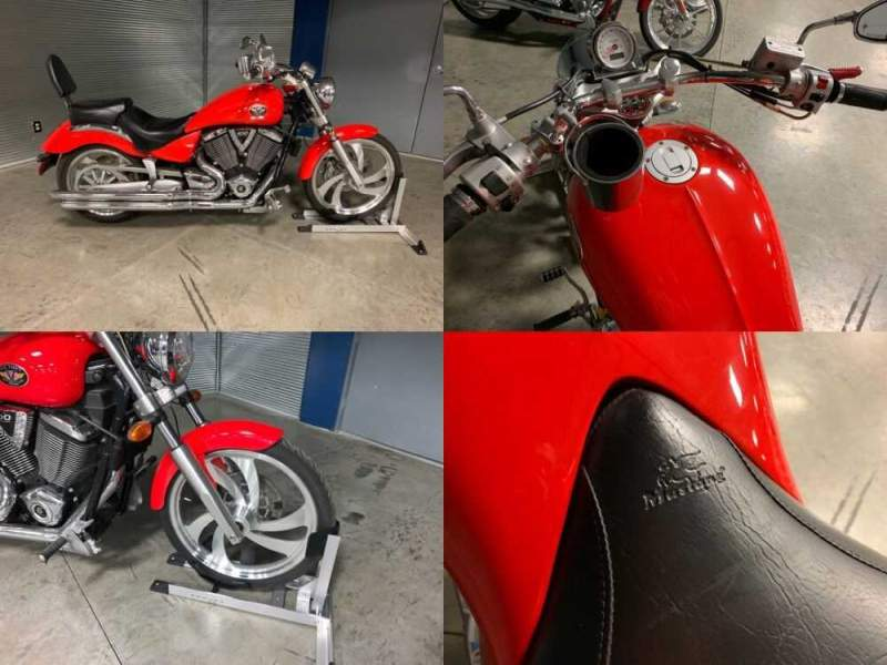 2006 Victory Vegas Red for sale craigslist photo