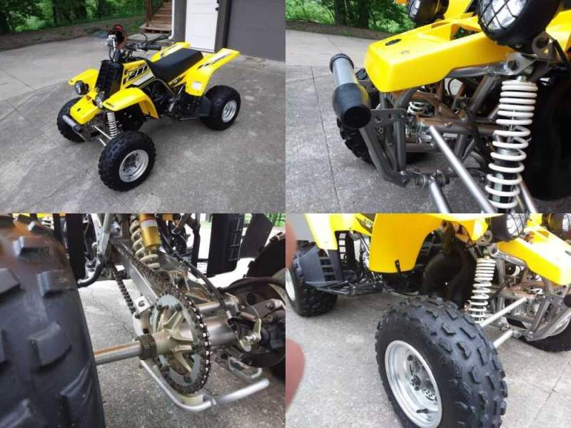 2006 Yamaha Banshee 50th Anniversary Special Edition Yellow for sale craigslist