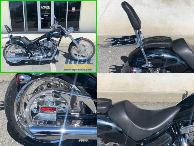 2007 American Ironhorse Chopper Black for sale craigslist photo