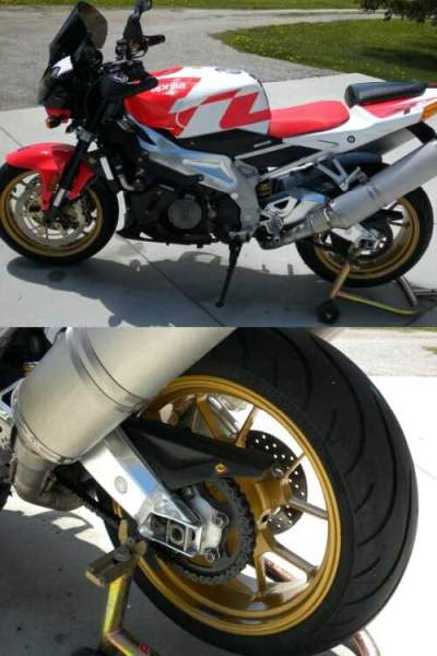 2007 Aprilia Tuono Red/White for sale craigslist
