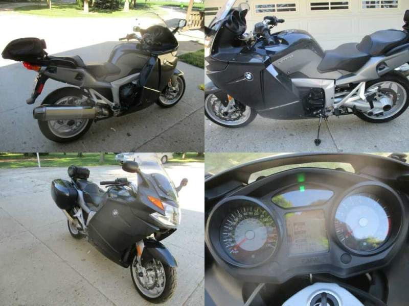 2007 BMW K1200GT Black for sale craigslist photo