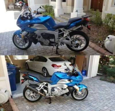 2007 BMW K1200R-Sport Blue for sale