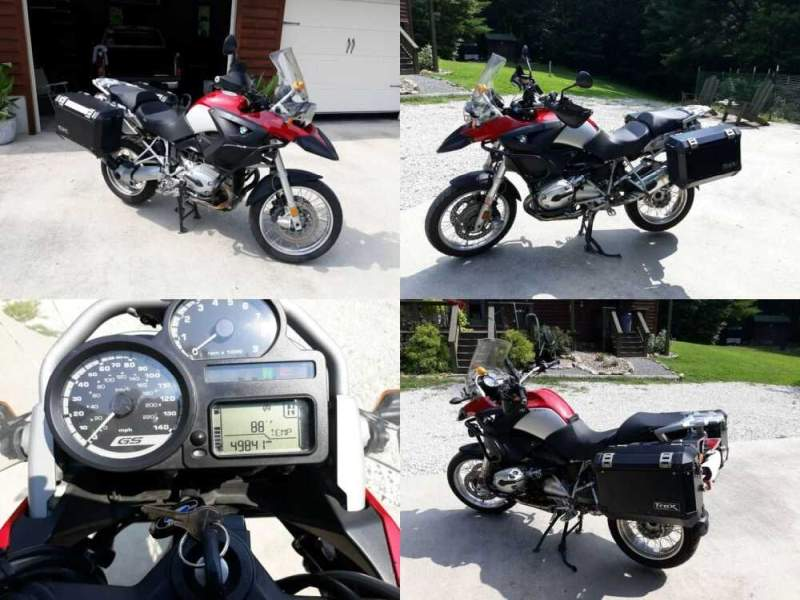 2007 BMW R-Series RED/SILVER for sale craigslist photo