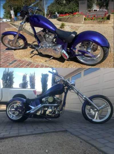 2007 Big Dog Devils advocate Custom for sale craigslist photo