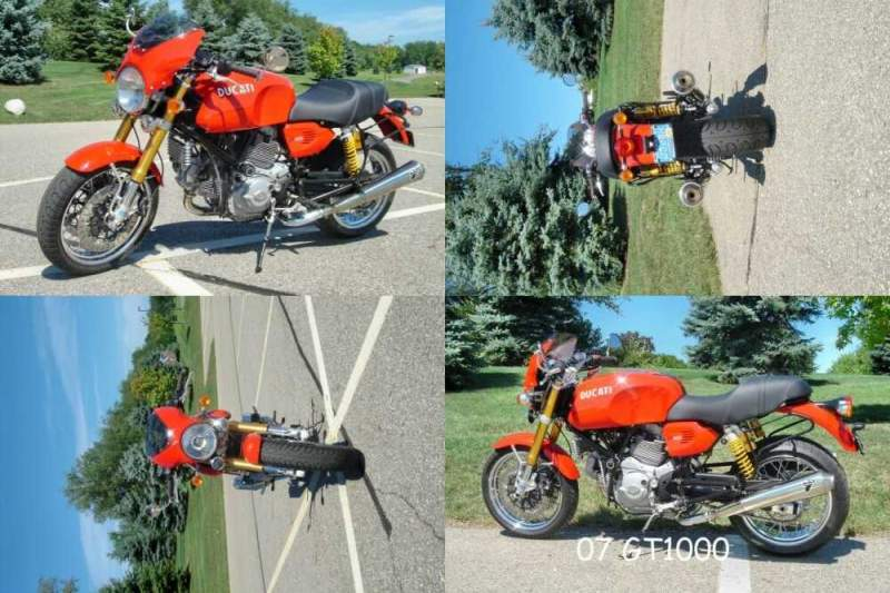 2007 Ducati Sport Classic GT1000 Red for sale