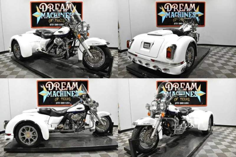2007 Harley-Davidson FLHRC - Road King Classic Trike White for sale craigslist
