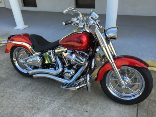 2007 Harley-Davidson Softail Candy Apple Red for sale craigslist photo
