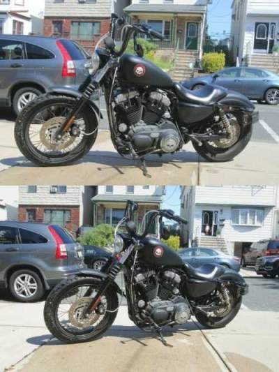 2007 Harley-Davidson Sportster Black for sale craigslist photo