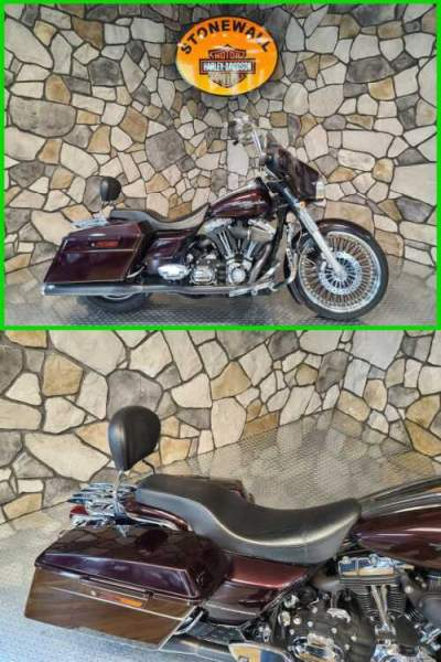 2007 Harley-Davidson Touring FLHX Street Glide Black Cherry Pearl for sale craigslist photo