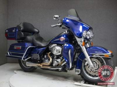 2007 Harley-Davidson Touring DEEP COBALT PEARL for sale craigslist photo