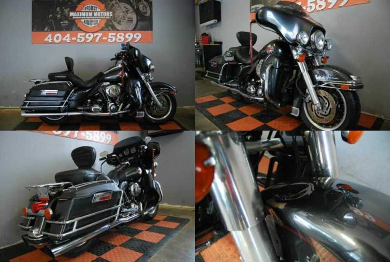 2007 Harley-Davidson Touring Gray for sale craigslist photo