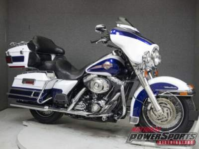 2007 Harley-Davidson Touring WHITE GOLD PEARL/DEEP COBALT PEARL for sale