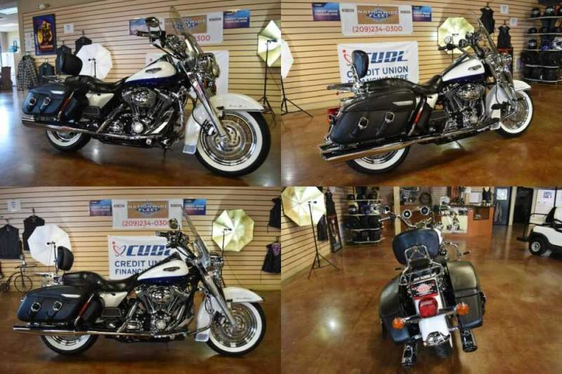 2007 Harley-Davidson Touring White for sale craigslist photo