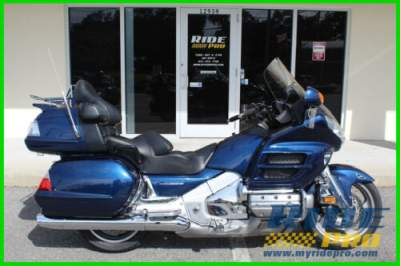 2007 Honda Gold Wing Audio / Comfort / Navi / ABS Blue for sale