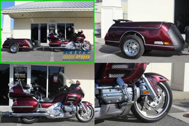2007 Honda Gold Wing Audio / Comfort / Navi MAROON for sale craigslist photo