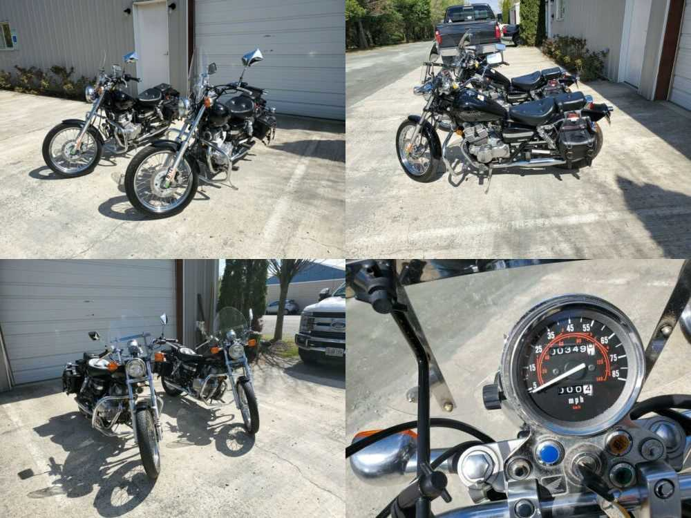 2007 Honda Rebel Black for sale