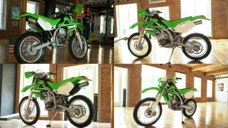 2007 Kawasaki KLX Green for sale craigslist photo