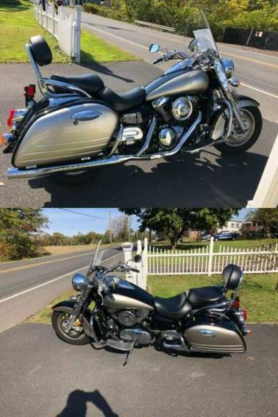 2007 Kawasaki Vulcan 1600 Nomad Silver for sale craigslist photo