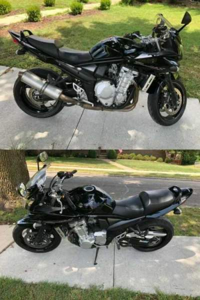 2007 Suzuki Bandit Bandit (GSF1250S) 1250S Black for sale