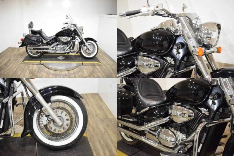 2007 Suzuki Boulevard Black for sale craigslist photo
