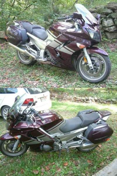 2007 Yamaha FJR Burgundy for sale craigslist photo