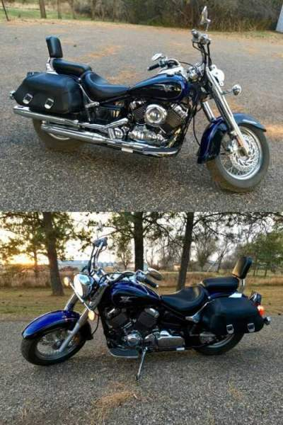 2007 Yamaha V Star® 650 Classic Raven / Blue Galaxy for sale