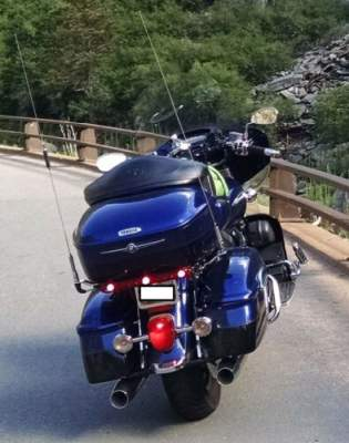 2007 Yamaha Venture Blue for sale