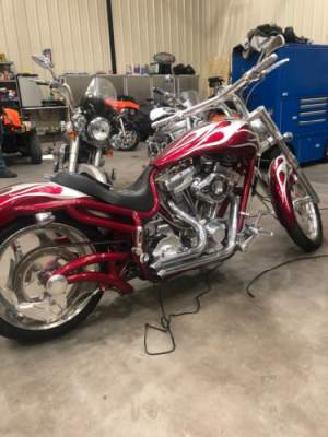 2008 Bourget LOW BLOW CUSTOM Red GRAY for sale