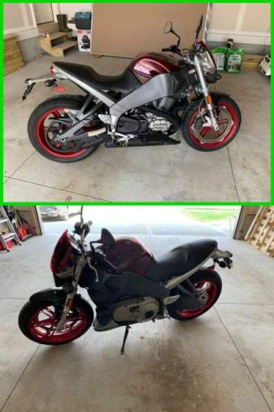 2008 Buell Lightning XB12S Red/Grey for sale craigslist photo