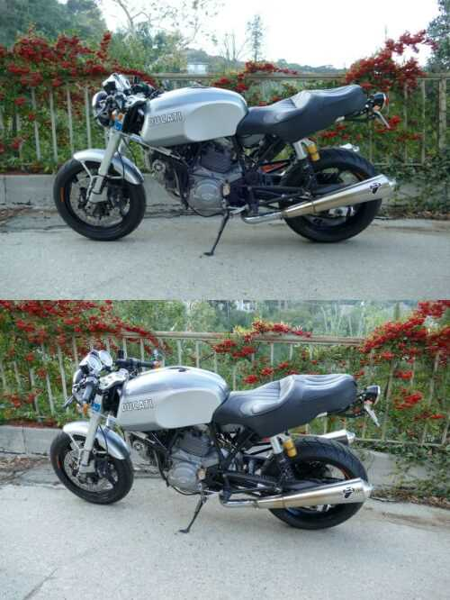 2008 Ducati Classic Sport GT1000 Gray for sale craigslist photo